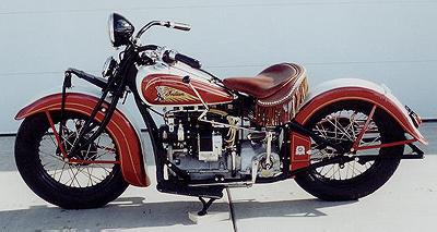 1936 Indian Left Side