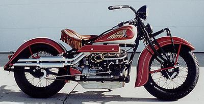 1936 Indian Right Side