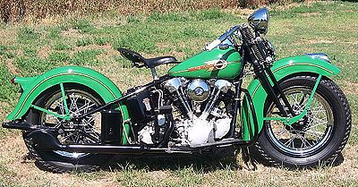 1938 Harley-Davidson Knuckelhead Right Side