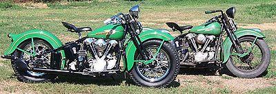 1938 Harley-Davidson Knuckelhead Matching Pair