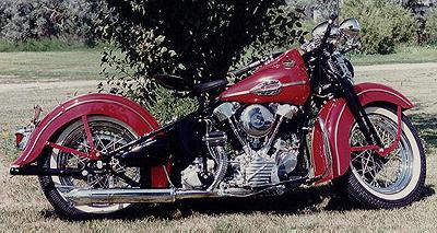 1941 Harley-Davidson Knuckelhead Right Side