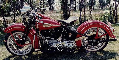 1941 Harley-Davidson Knuckelhead Left Side