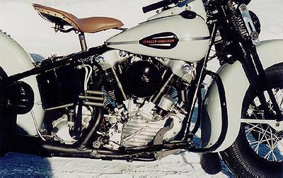 1944 Harley-Davidson Knuckelhead Right Side