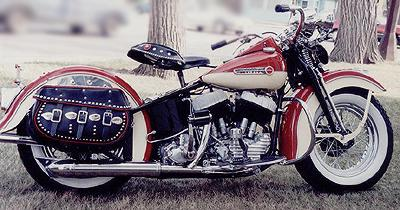 1947 Harley-Davidson Flathead Right Side