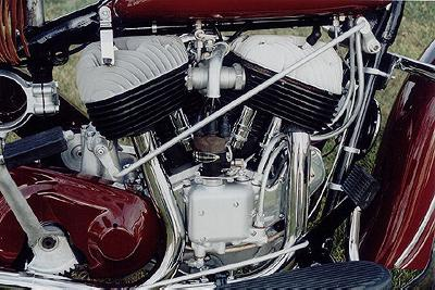 1947 Indian Chief Engine