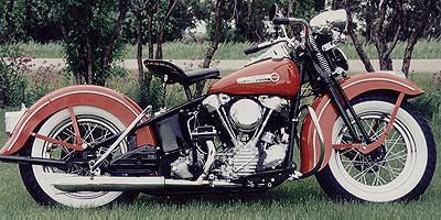 1947 Harley-Davidson Knucklehead Right Side