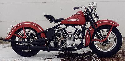 1948 Harley-Davidson Panhead Right Side