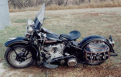 1948 Harley-Davidson Panhead Left Side