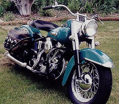 1949 Harley-Davidson Panhead Right-Front