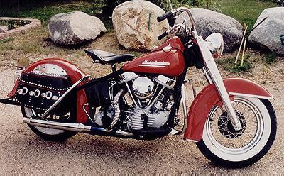 1949 Harley-Davidson Panhead Right Side