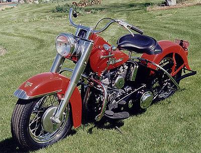 1955 Harley-Davidson Panhead Left Side