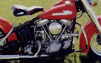 1955 Harley-Davidson Panhead Right Side