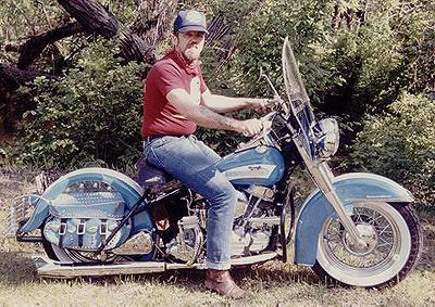 Carl Olsen 1956 Panhead South Dakota