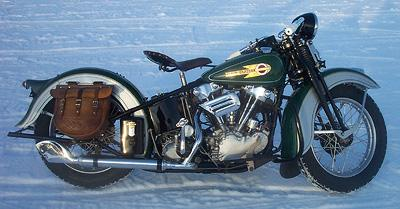 1936 Harley-Davidson Knuckelhead Right Side
