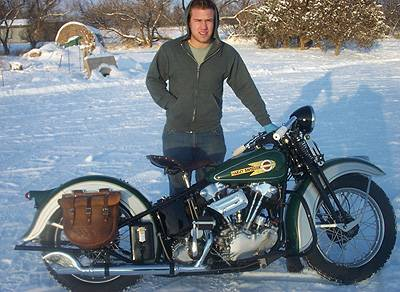 Matt Olsen 1936 Knucklehead