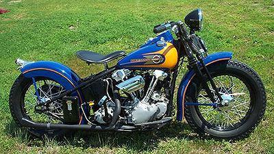 1939 Harley-Davidson Knucklehead Bobber
