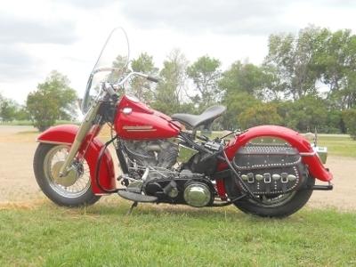1952 Harley-Davidson Panhead FL Left Side