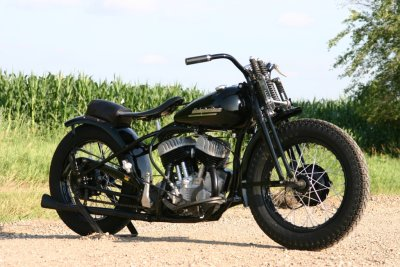 1952 Harley-Davidson WRTT Right Side