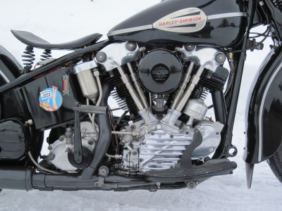 1946 Harley-Davidson Knucklehead Engine