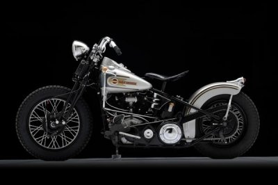 1946 Harley-Davidson EL Knucklehead Bobber Left Side