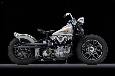 1946 Harley-Davidson EL Knucklehead Bobber Right Side