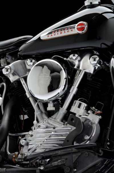 1947 Harley-Davidson Knucklehead FL Engine