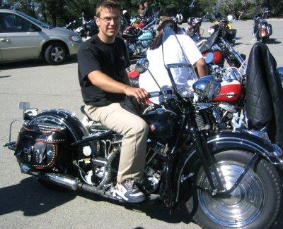 Matt Olsen 1948 Harley-Davidson