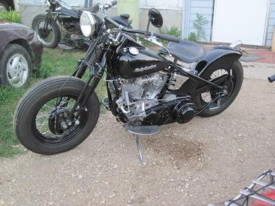 1953 Harley-Davidson Panhead Bobber Left Side