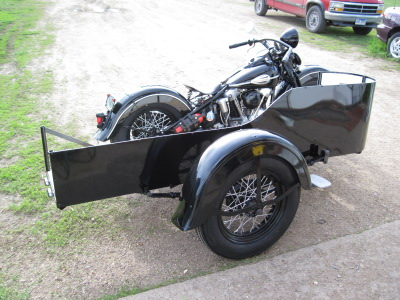 1946 Harley-Davidson Knucklehead With Sidecar