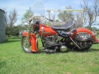 1953 Harley-Davidson Panhead Left Side