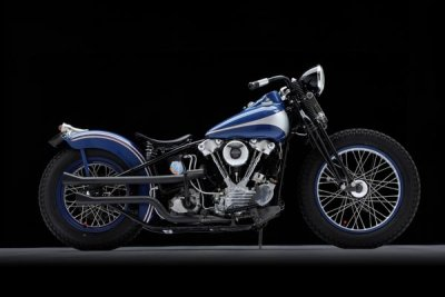 1946 Harley-Davidson FL Knucklehead Bobber Right Side