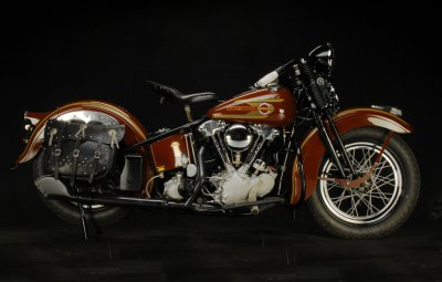 1937 Harley-Davidson Knuckelhead Right Side