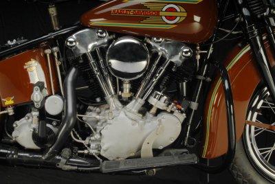 1937 Harley-Davidson Knuckelhead Engine