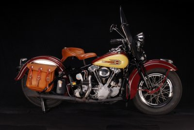 1939 Harley-Davidson Knuckelhead Right Side