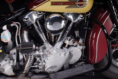 1939 Harley-Davidson Knuckelhead Engine