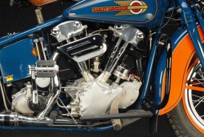 1936 Harley-Davidson Knuckelhead Engine