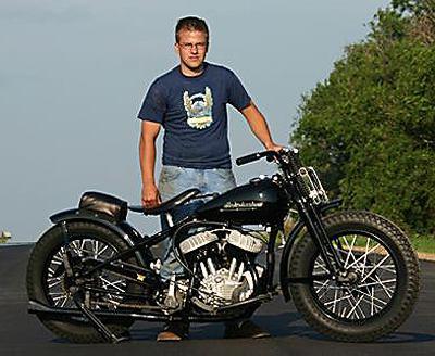 Matt Olsen Vintage Harley-Davidson